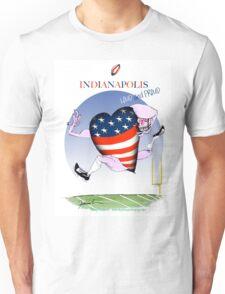 We Love Indianapolis, tony fernandes Unisex T-Shirt