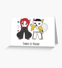 Stardust and Mercury Greeting Card