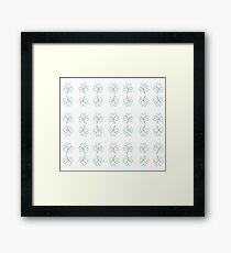 Green Shamrock  Framed Print