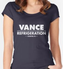 Vance Refrigeration - The Office Women's Fitted Scoop T-Shirt