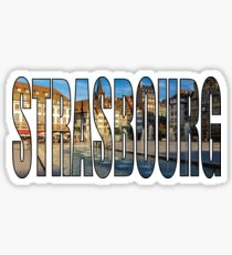 Strasbourg Sticker