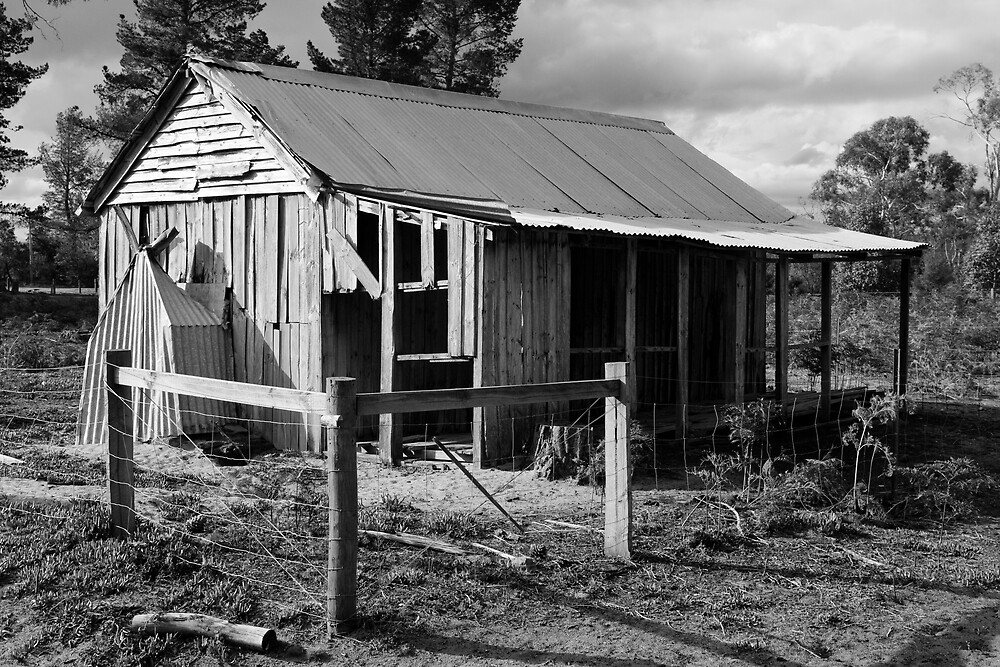 Old Miners Hut by Chris Putnam