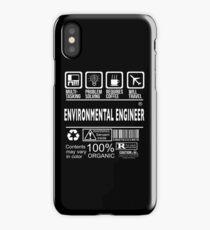 ENVIRONMENTAL ENGINEER Will travel iPhone Case/Skin