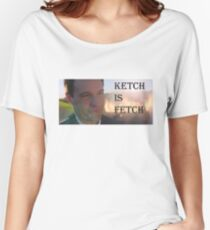 Mr. Ketch Women's Relaxed Fit T-Shirt