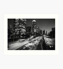 110 Freeway Art Print