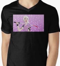 Claudia Mens V-Neck T-Shirt
