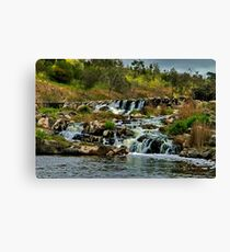 """Buckley's Falls"" Canvas Print"