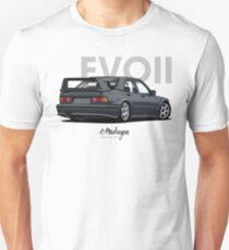 Mercedes 190E Evo II (black) Unisex T-Shirt