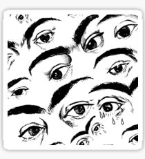 Eyes of Frida - Repeating Pattern Sticker