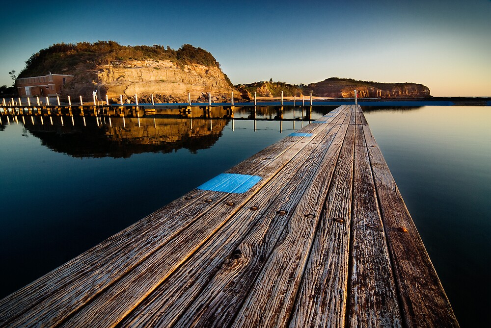 Old Planks of North Narrabeen by Brent Pearson