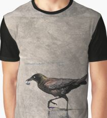 Crow Carries Graphic T-Shirt