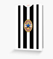 newcastle united Greeting Card