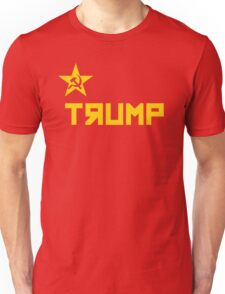trump CCCP Russian Flag Unisex T-Shirt