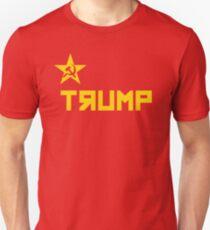 trump CCCP Russian Flag Unisex T-Shirt