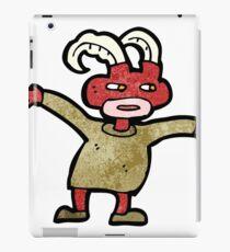 cartoon little demon iPad Case/Skin