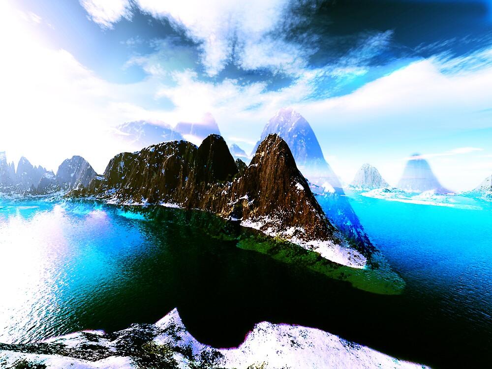Fantasy Landscape by Stephen Jackson