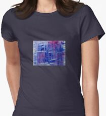 DESCENDING Womens Fitted T-Shirt