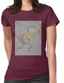 movie script bee Womens Fitted T-Shirt