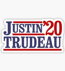 Justin Trudeau 2020 Sticker