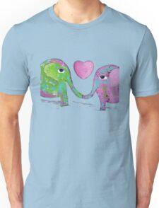 Elephant Love Unisex T-Shirt