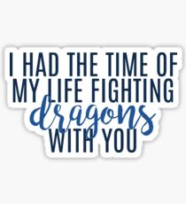 FIGHTING DRAGONS | Taylor Swift Sticker