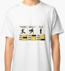 young adult old Classic T-Shirt
