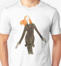 Art by A.R. Regan: Natasha Romanoff T-Shirt