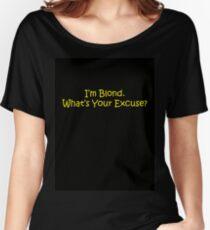 Blond Women's Relaxed Fit T-Shirt