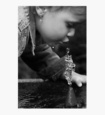 Water Sculptures Photographic Print