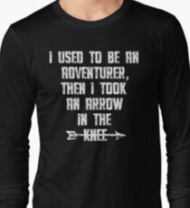 I Used To Be An Adventurer, Then I Took An Arrow In The Knee T-Shirt