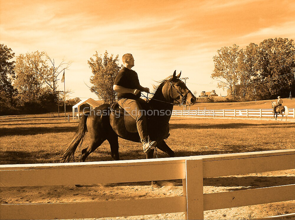 Horse Show by Chasity Edmonson-Hobbs