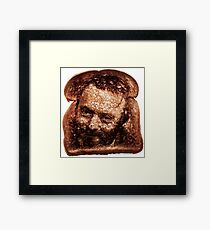 Christopher Hitchens - Toast Framed Print