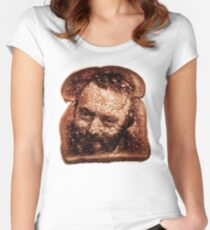 Christopher Hitchens - Toast Women's Fitted Scoop T-Shirt