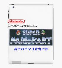 Mario Kart logo v2 iPad Case/Skin