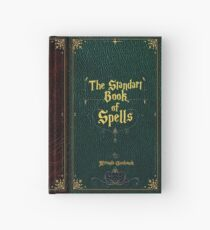 The standart book of spells Hardcover Journal