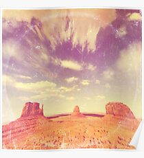 Navajo Country - America As Vintage Album Art Poster