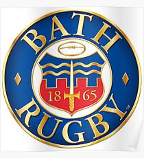 Bath Rugby Poster