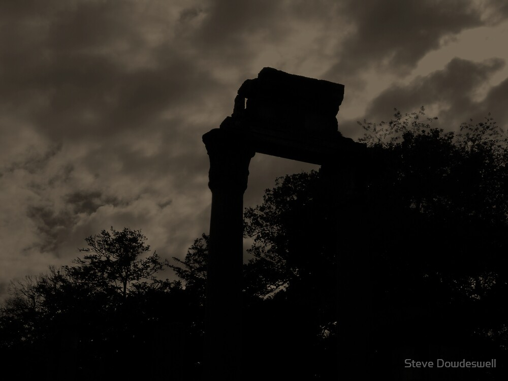 Ruined Columns by Steve Dowdeswell