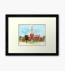 Howard University - Founders Library Framed Print