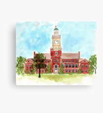 Howard University - Founders Library Canvas Print