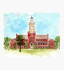 Howard University - Founders Library Photographic Print