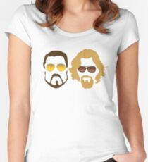 The Dude and Walter Women's Fitted Scoop T-Shirt