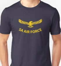 South African Air Force (Yellow Text) T-Shirt