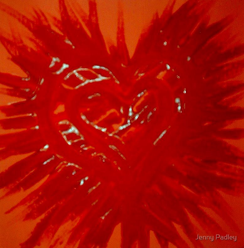 Spreading the love by Jenny Padley