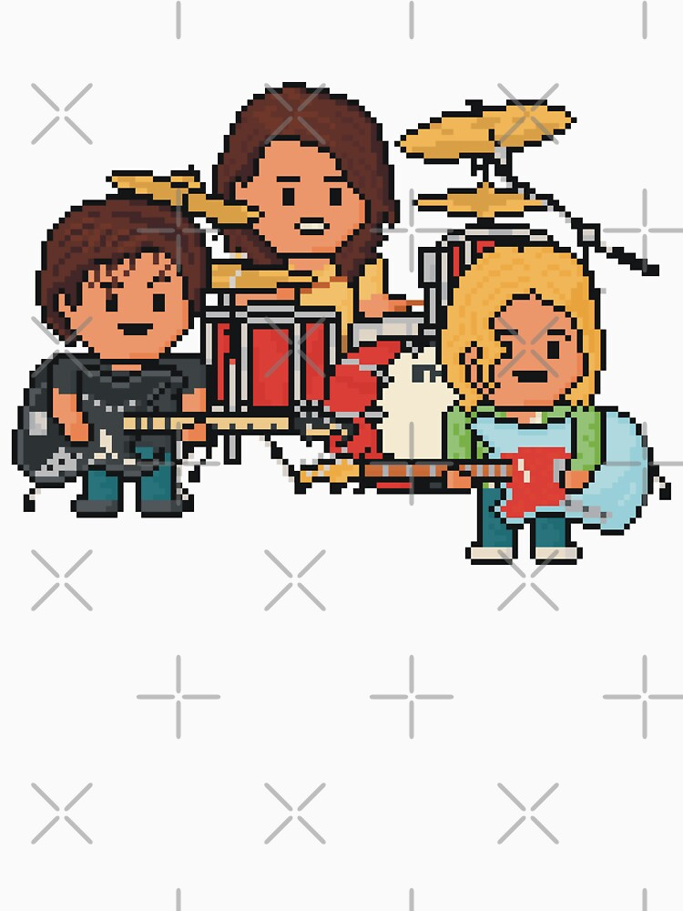 Pixel Grunge Band by gkillerb