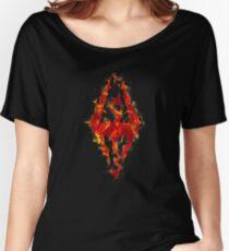 Fus ro dah - Fire Women's Relaxed Fit T-Shirt