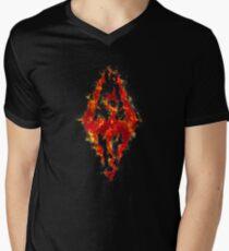 Fus ro dah - Fire Men's V-Neck T-Shirt