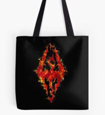 Fus ro dah - Fire Tote Bag