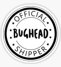 Official Bughead Shipper Sticker