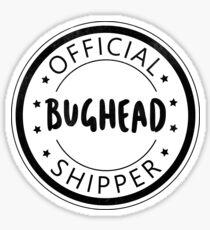 Offizielle Bughead Shipper Sticker